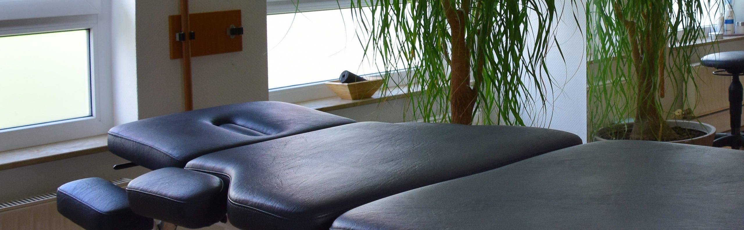 Behandlungsliege Kim Winkler ganzheitliche Physiotherapie Markgroeningen